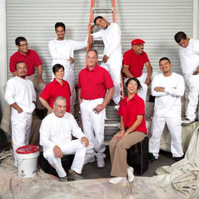 example image of our team of painters and decorators