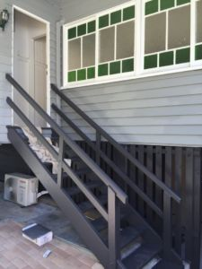east brisbane rear stairs