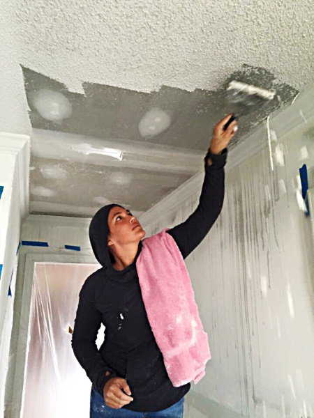 7 Tips on How to Remove a Popcorn Ceiling