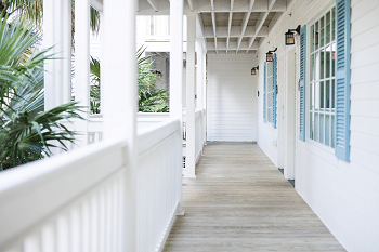 Hamptons Style Interior and Paint Colours